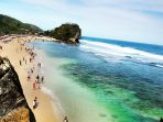 Indrayanti Beach in Indonesia