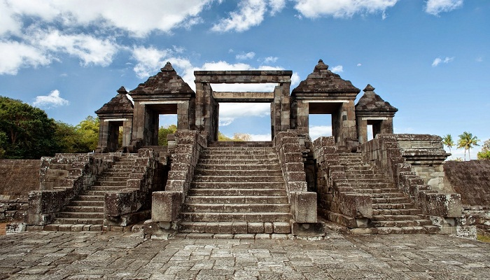 Ratu Boko Temple in Indonesia