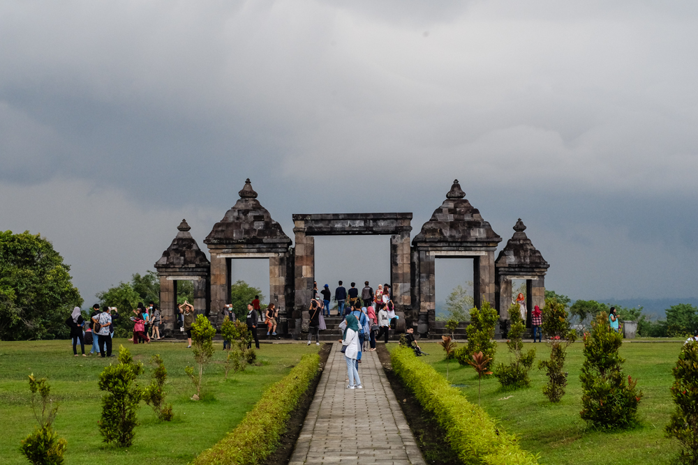 Ratu Boko Temple in Jogja