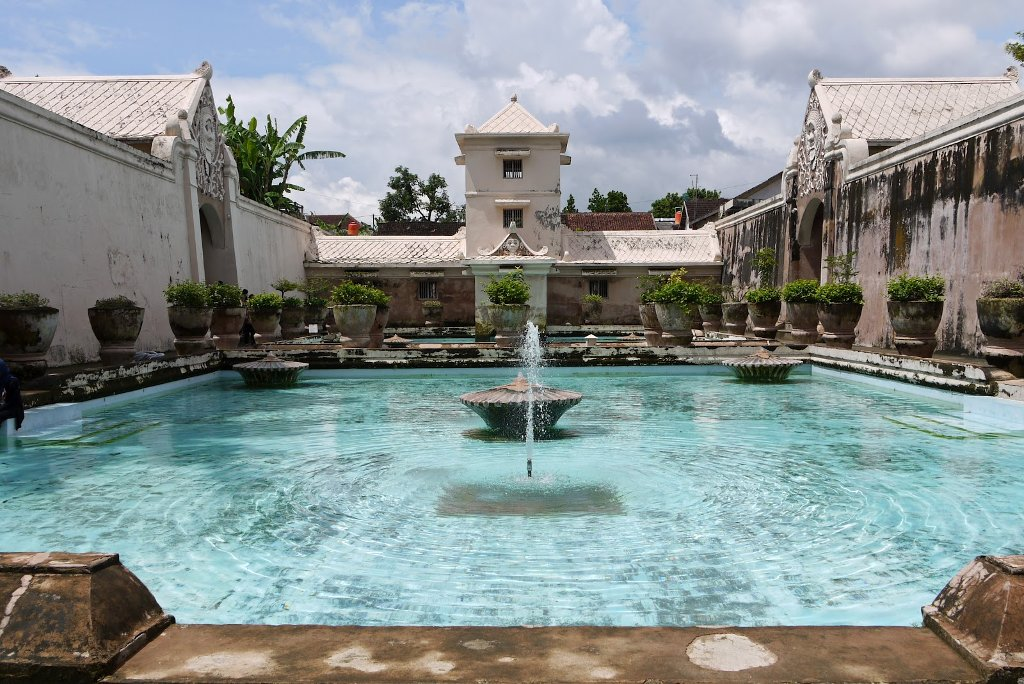 Taman Sari in Jogja City