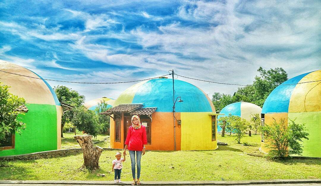Teletubbies Village in Jogja