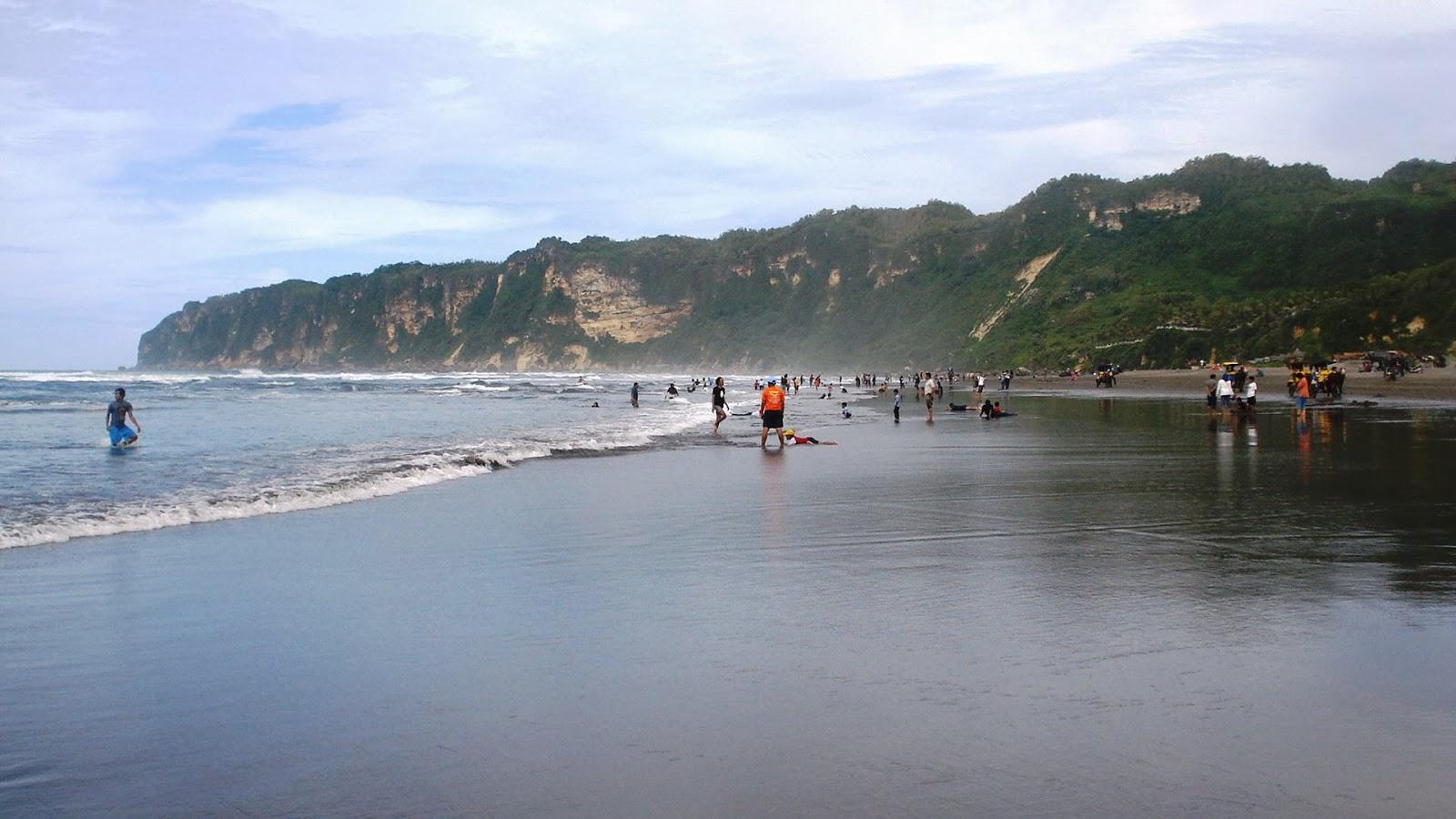 Parangtritis Beach in Jogjakarta