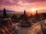 Sunset Candi Borobudur