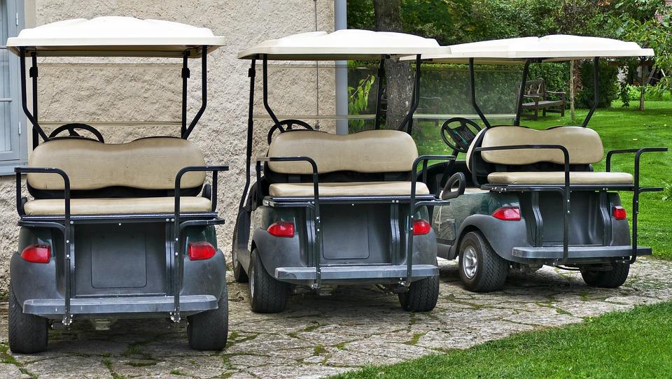 Cara Membuat Mobil Golf